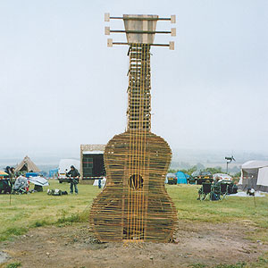 Willow Guitar created for EcoFest